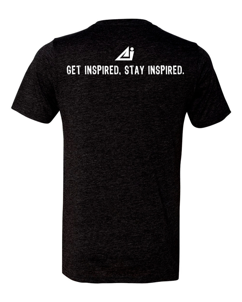 ATHLETE INSPIRED ® Bold design, soft tri blend t-shirt