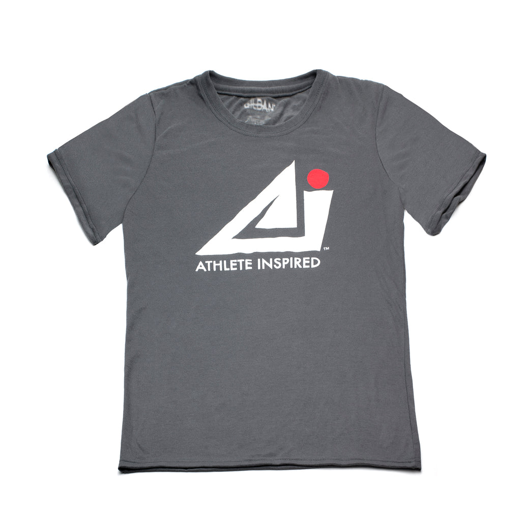 ATHLETE INSPIRED Gray T-Shirt - Men