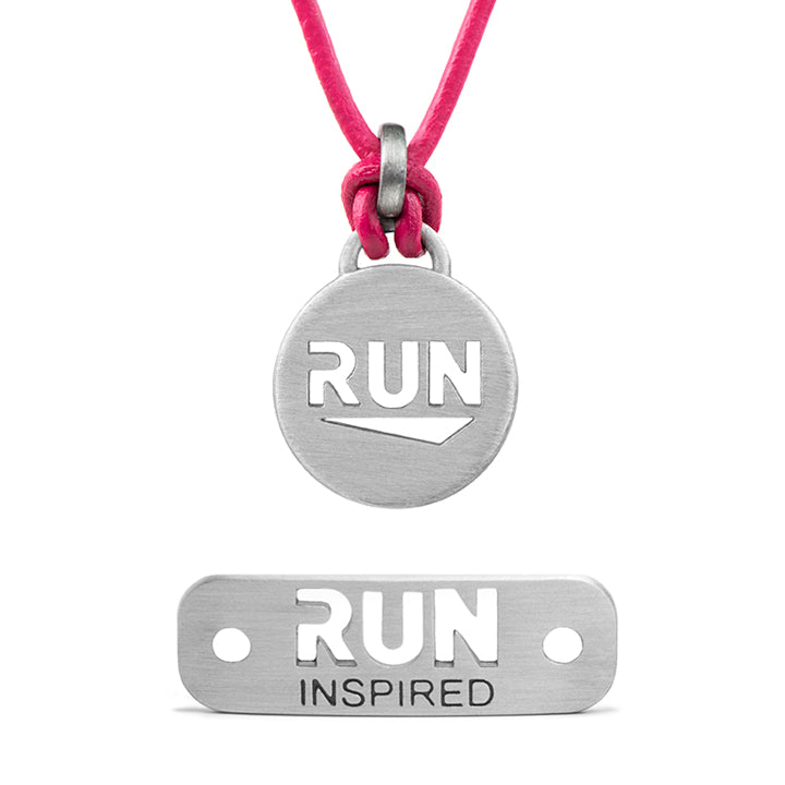 ATHLETE INSPIRED Run Bundle - Run Necklace and RUN Inspired Shoe Tag