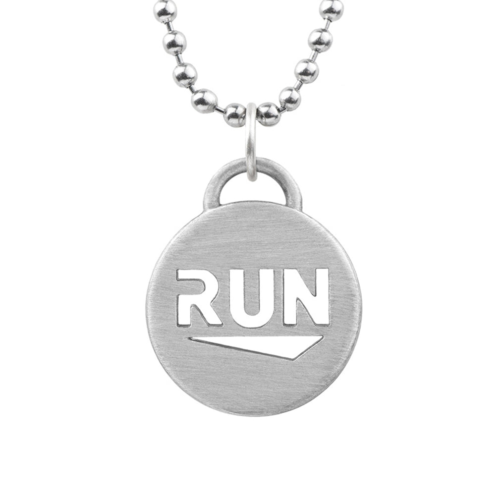 RUN Pendant Chain Necklace