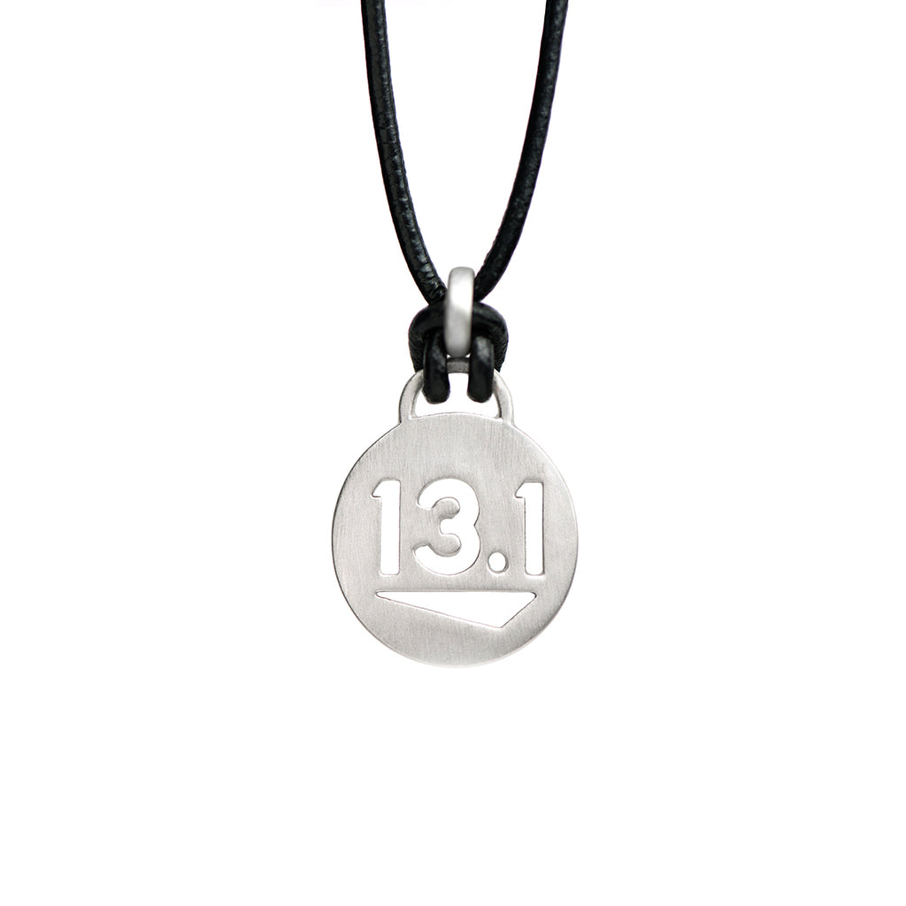 13.1 Half Marathon Running Necklace - ATHLETE INSPIRED Running jewelry