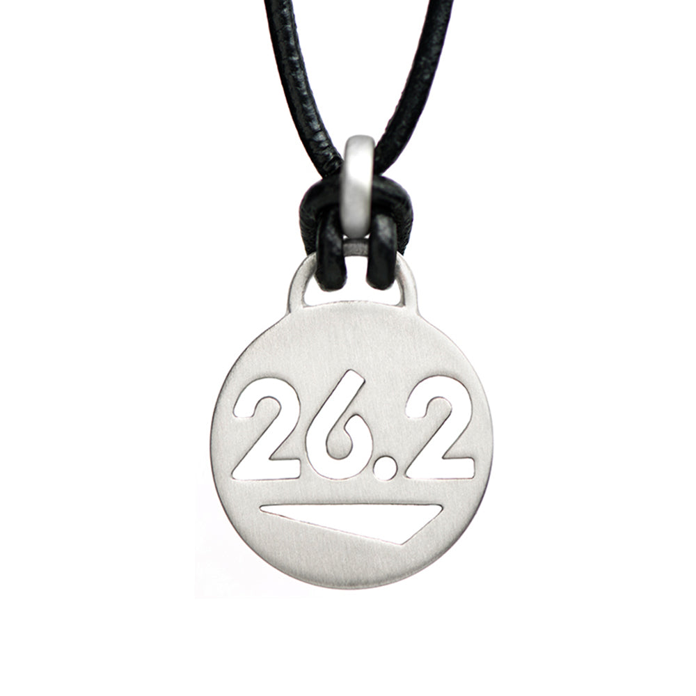 26.2 Marathon Running Necklace - ATHLETE INSPIRED running jewelry