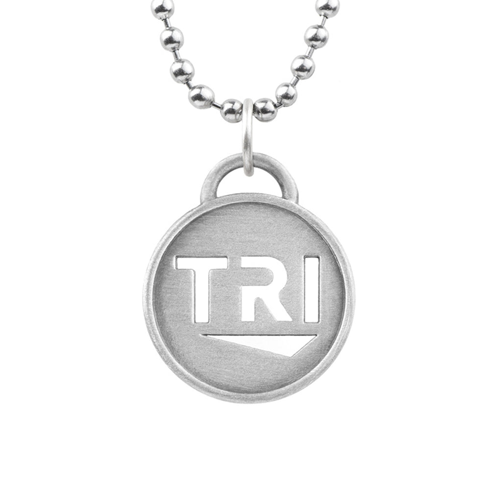 TRI Pendant Chain Triathlon Necklace