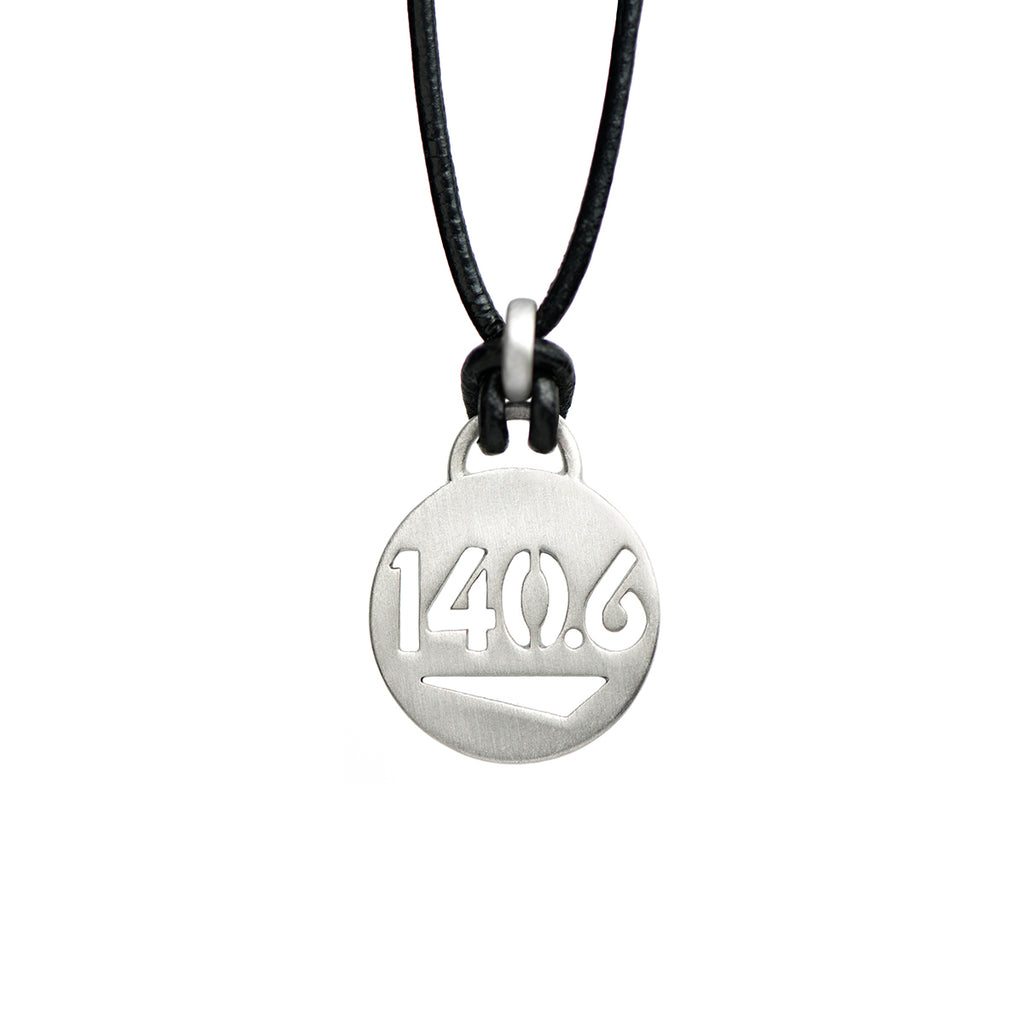 140.6 Ironman Triathlon Necklace - ATHLETE INSPIRED Triathlon jewelry, Ironman Necklace, Ironman Jewelry, Triathlon Necklace, Triathlon Jewelry