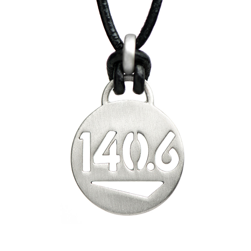 140.6 Ironman Triathlon Necklace - ATHLETE INSPIRED Triathlon jewelry