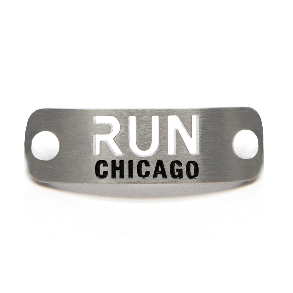 RUN CHICAGO Shoe Tag - ATHLETE INSPIRED