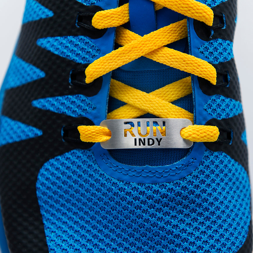 RUN INDY Shoe Tag - ATHLETE INSPIRED