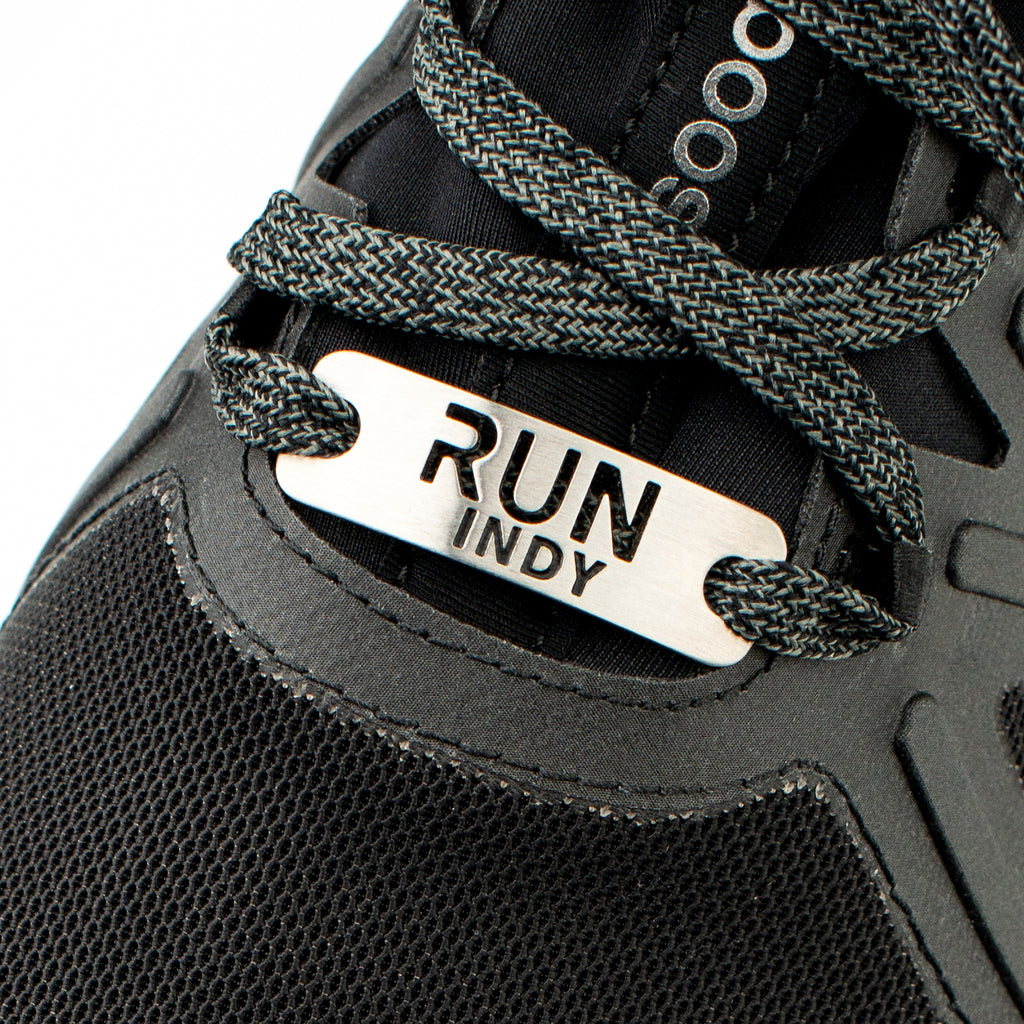 RUN INDY Shoe Tag