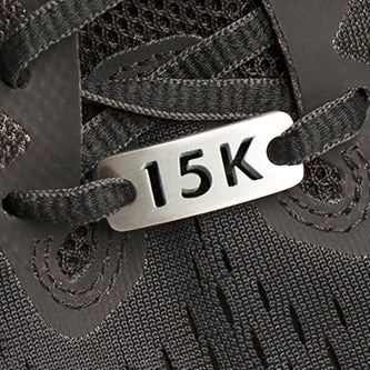 15K Running Shoe Tag