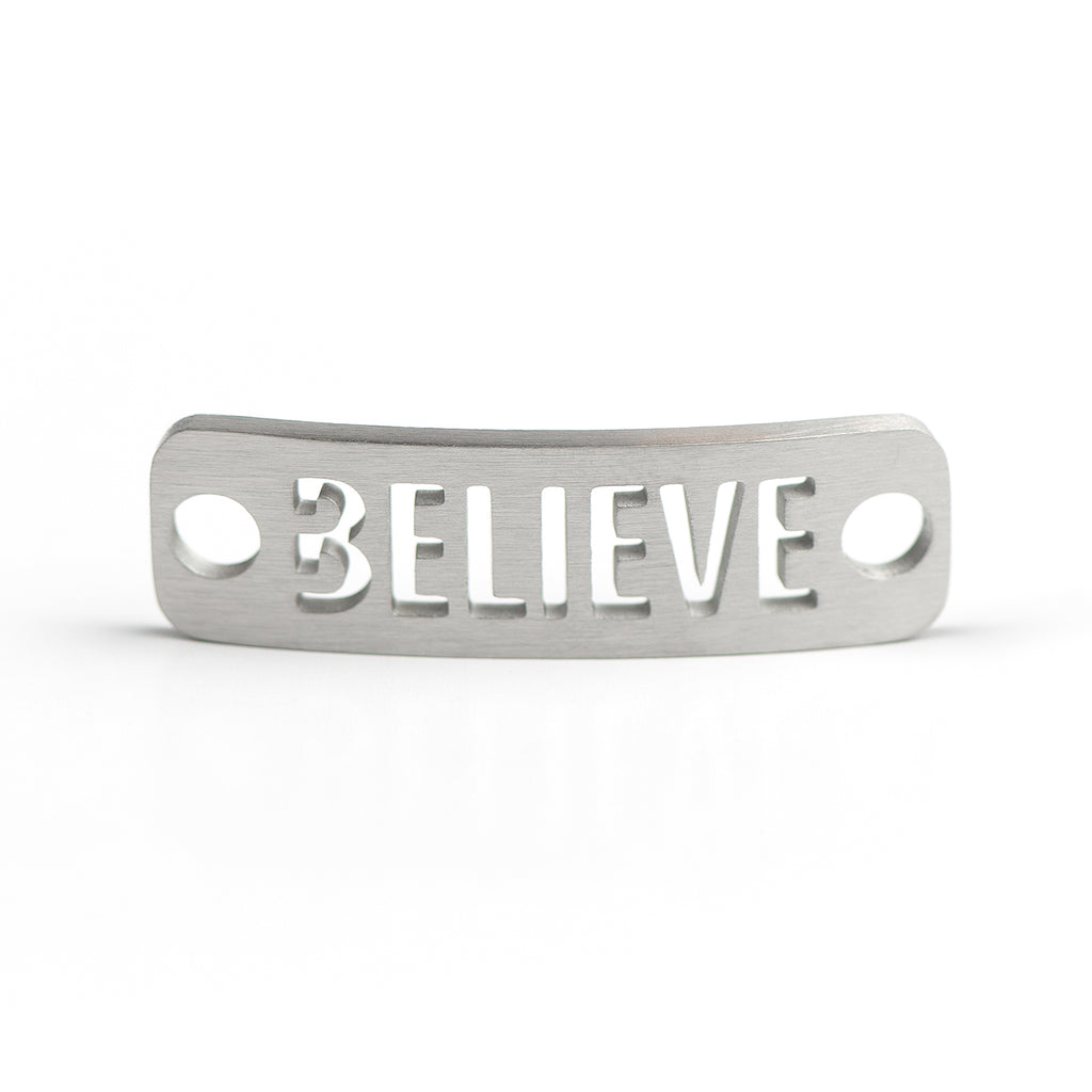 BELIEVE-COURAGE-BREATHE-STRENGTH Shoe Tag