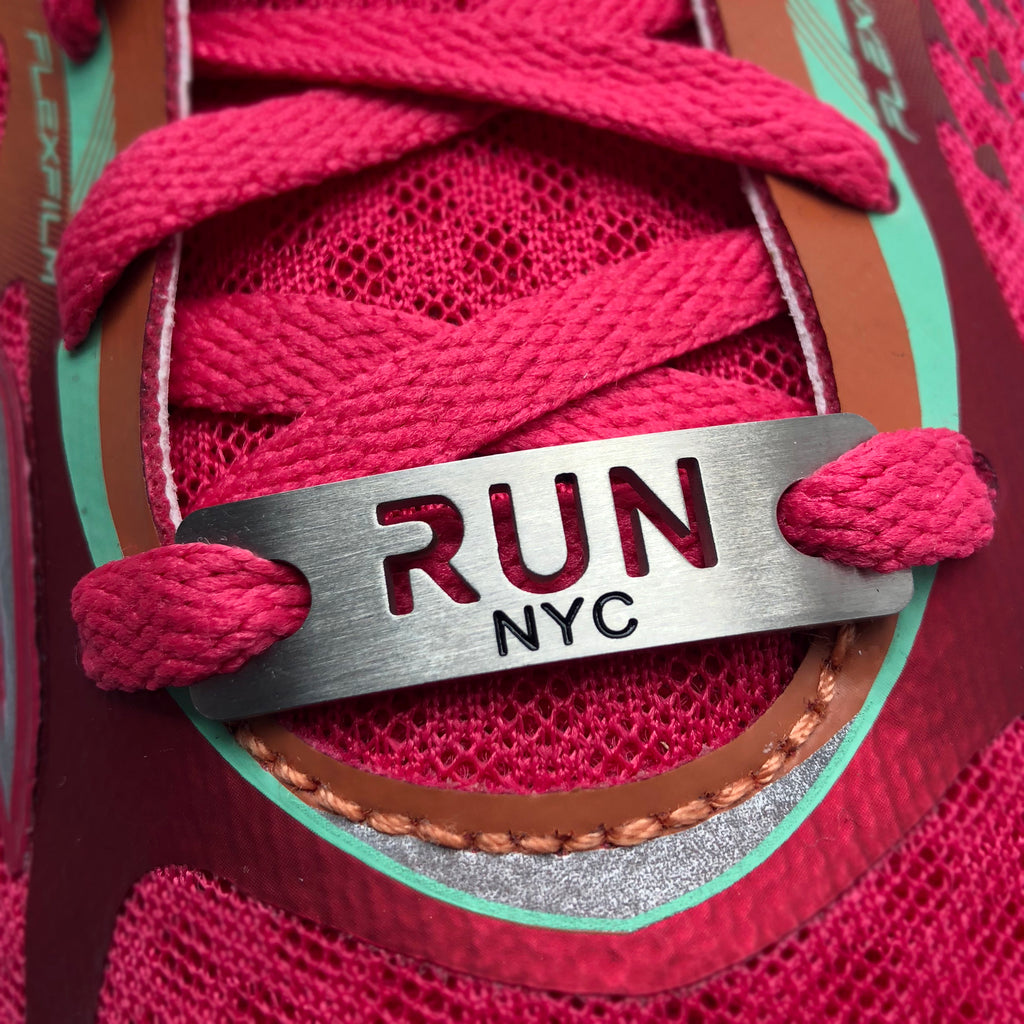 RUN NYC - New York City Shoe Tag
