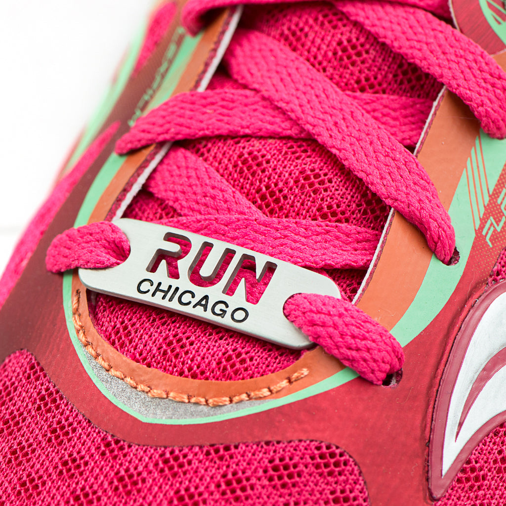 RUN CHICAGO Shoe Tag