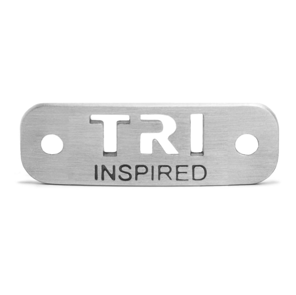 TRI INSPIRED Shoe Tag - ATHLETE INSPIRED