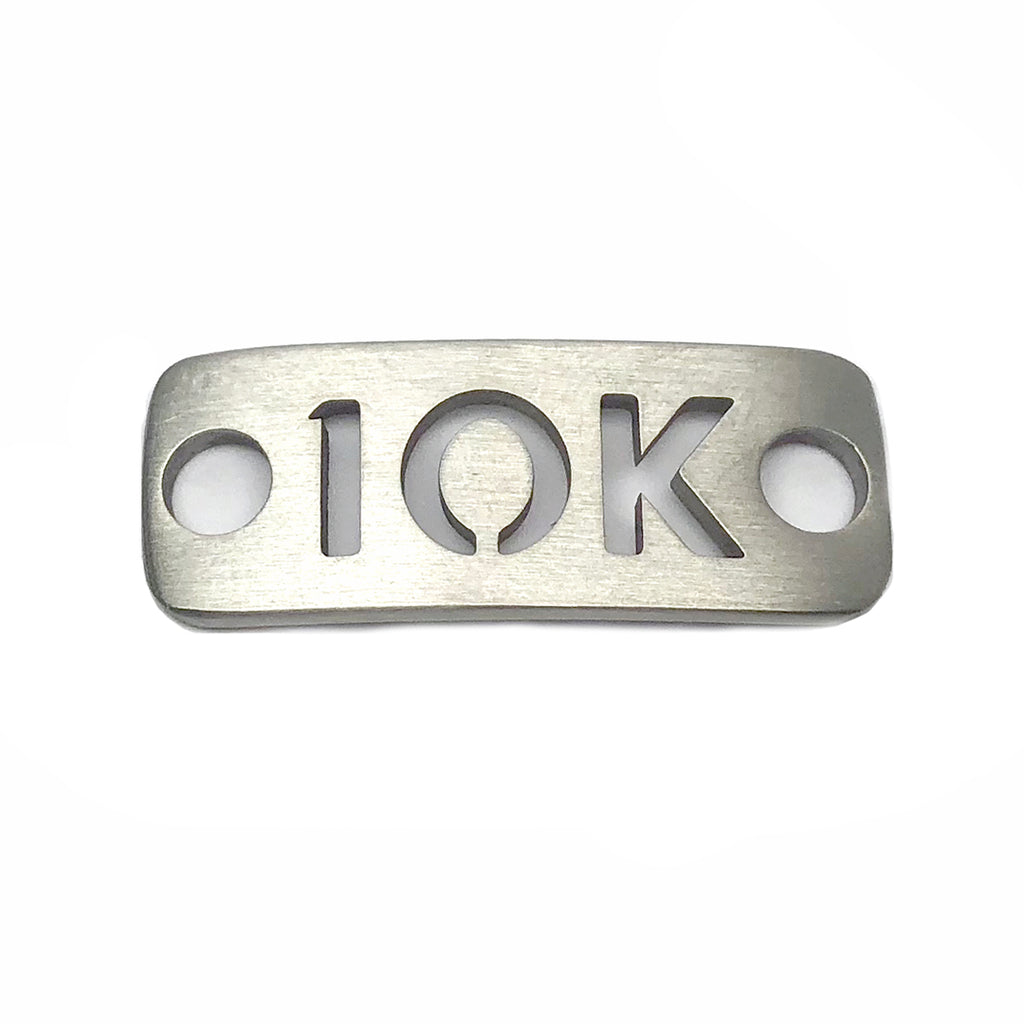 10K running shoe tag - ATHLETE INSPIRED