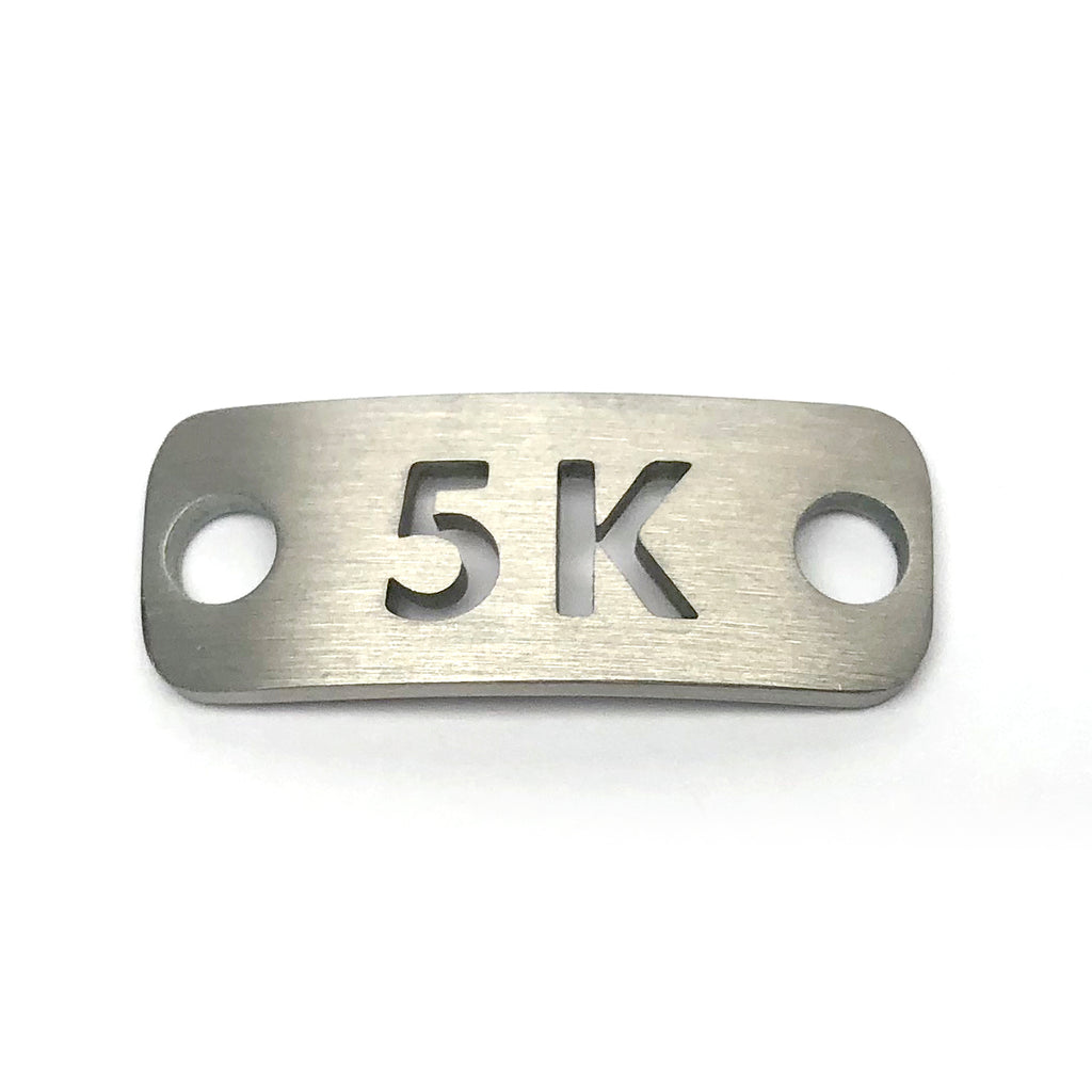 5K running shoe tag - ATHLETE INSPIRED