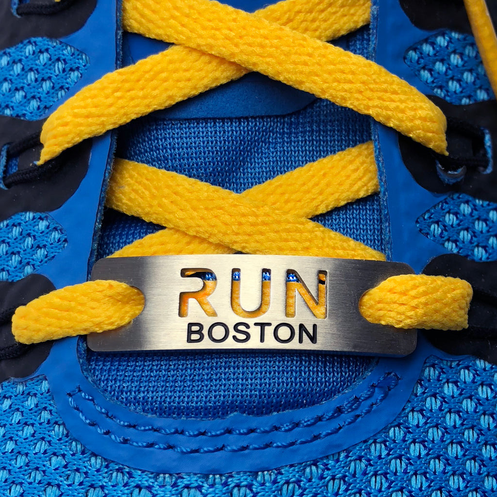 ATHLETE INSPIRED - RUN BOSTON Shoe Tag