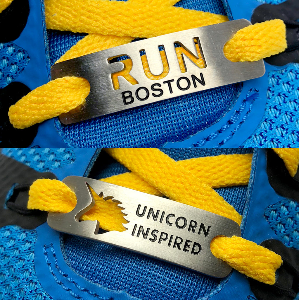 BOSTON BUNDLE - UNICORN INSPIRED & RUN BOSTON Shoe Tag Bundle