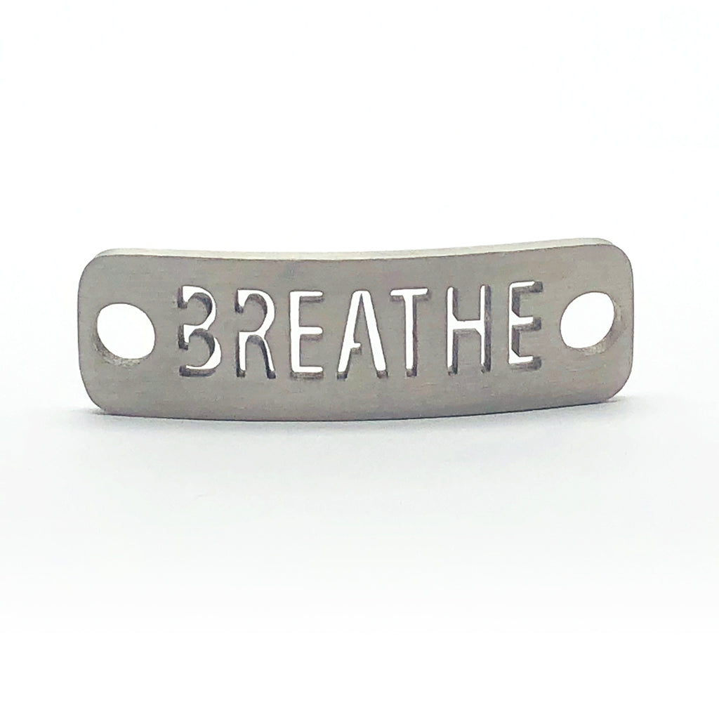 BREATHE Wrap Blended Button Wrap Bracelet