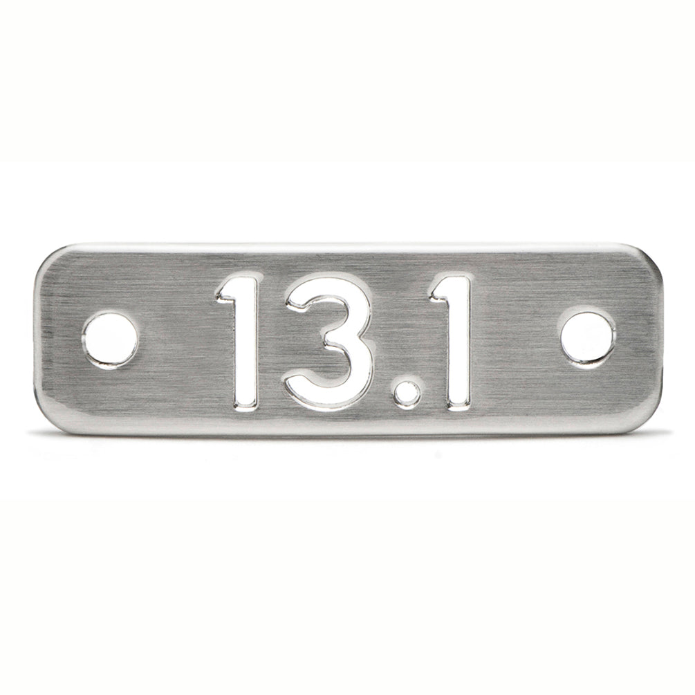 13.1 Half Marathon Running Shoe Tag - ATHLETE INSPIRED