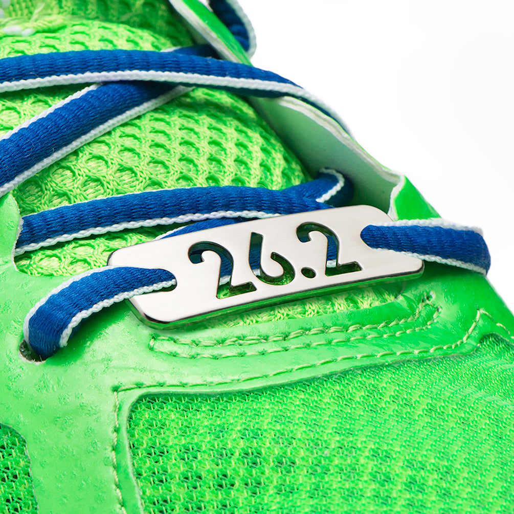26.2 Marathon Running Shoe Tag - ATHLETE INSPIRED