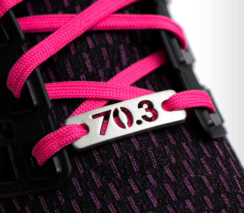 ATHLETE INSPIRED ®  70.3 Triathlon Shoe Tag