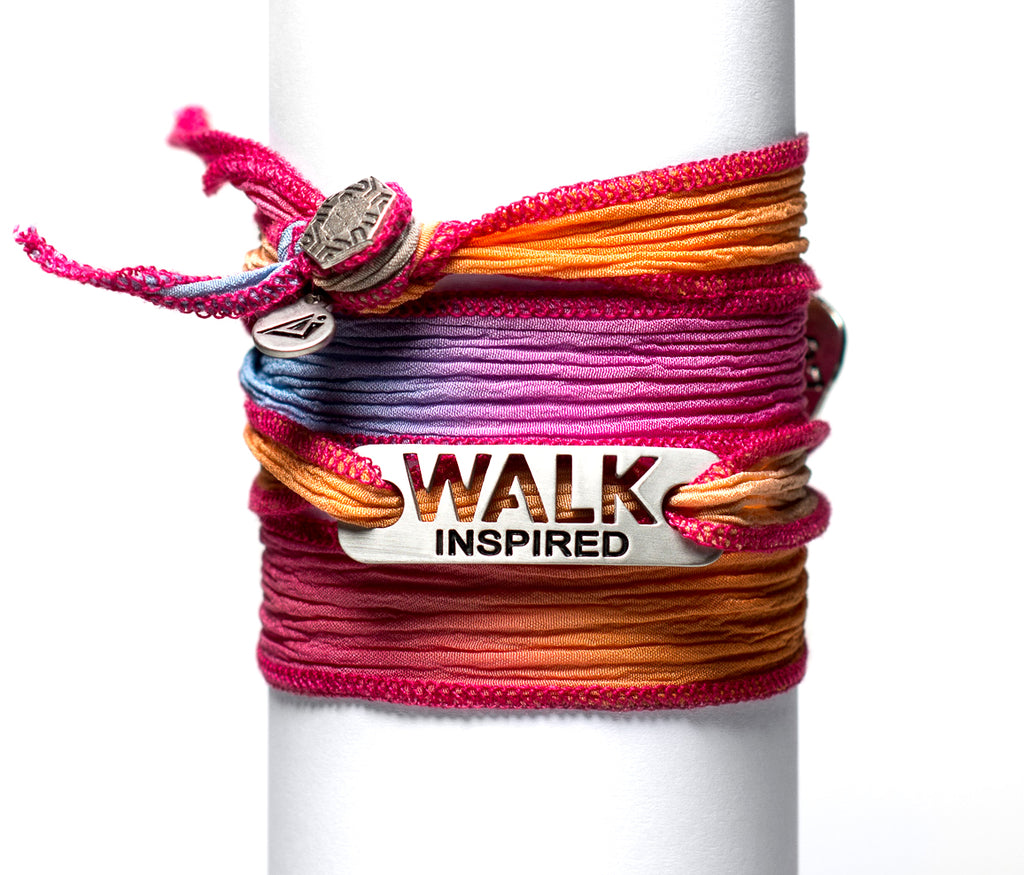 WALK Inspired Wrap Walking Bracelet