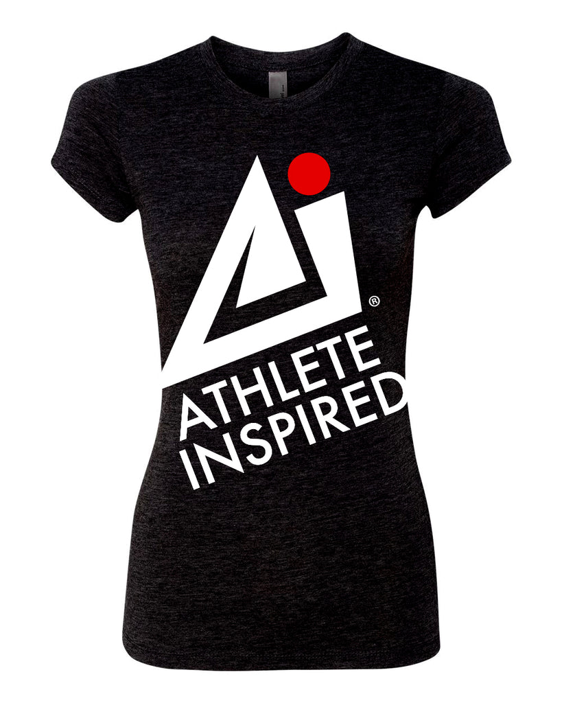 ATHLETE INSPIRED Black T-Shirt - Women