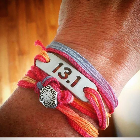 ATHLETE INSPIRED ® 13.1 Half Marathon Wrap Running Bracelet