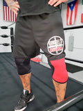 Gangrel's Wrestling Asylum Official Logo Moisture Management Shorts