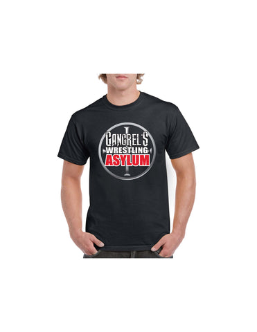 Official Gangrel's Wrestling Asylum Logo Unisex T-Shirt 100% Cotton
