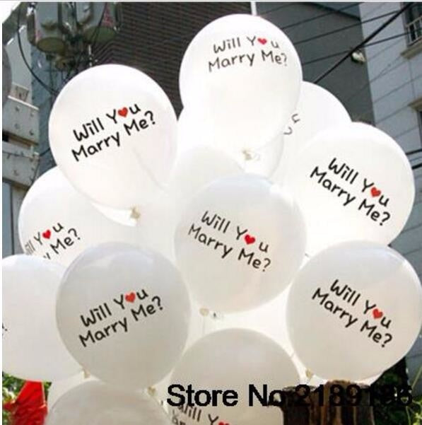 30Pcs/lot Valentines Latex Balloons - Happy Peaks