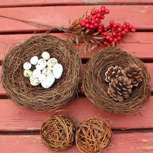 Fake Bird Nest Bird Cage for Creative Marriage Proposal