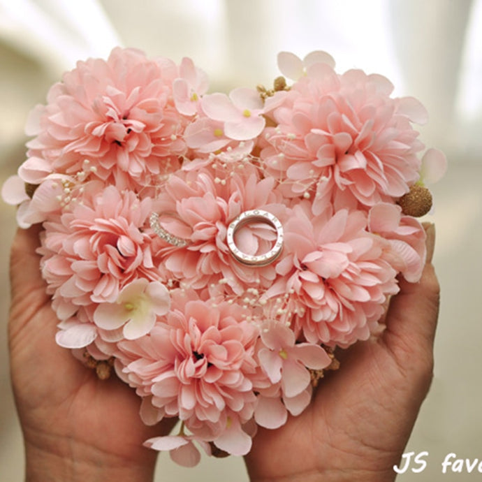 Heart shaped Pink flower