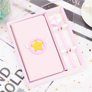 Lovely Sailor Moon Notebook Set Children Journal - Happy Peaks