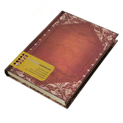Retro Vintage Personal Notebook Daily Diary Journal