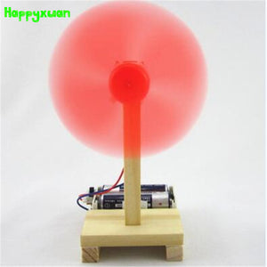 DIY Electric Fan Model Science Kit - Happy Peaks
