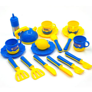 Classic Cooking Toys Kitchen Set - Happy Peaks