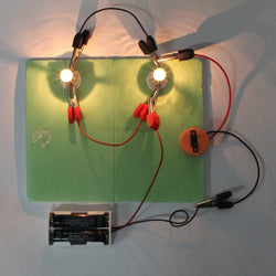 Electric experiment Series and parallel circuits - Happy Peaks