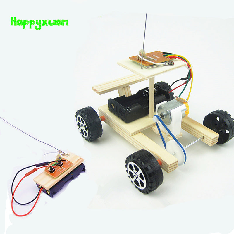 Electric Remote Control Car Kit - Happy Peaks