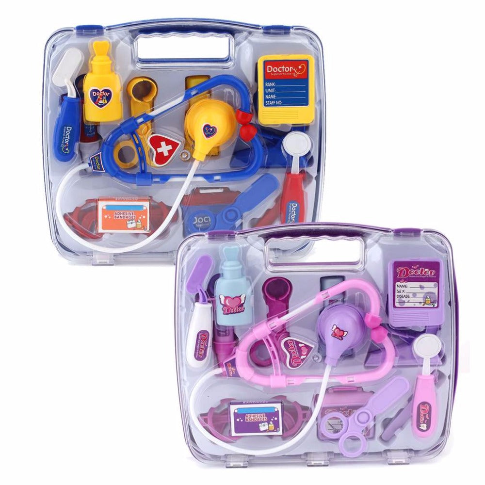 Kids Educational Pretend Doctor Case Toy Set - Happy Peaks