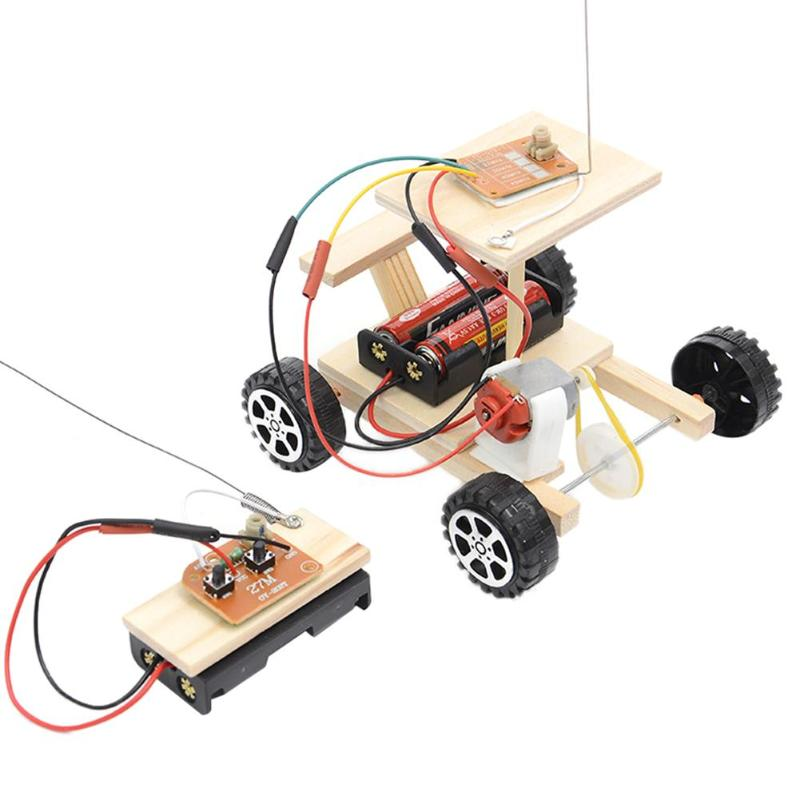 DIY Wireless Remote Control Racing Model Kit