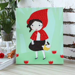 Children Handmade Red Hat Painting Craft Kit - Happy Peaks