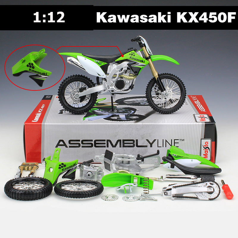 Kawasaki Motorcycle Toy - Happy Peaks