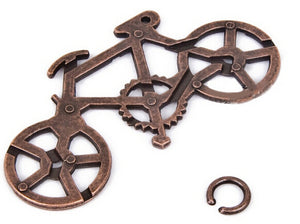Classic Metal Bike Puzzle for Children - Happy Peaks