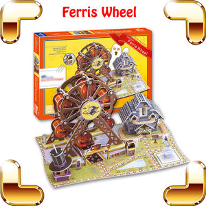 Ferris Wheel 3D Model Building Puzzle - Happy Peaks