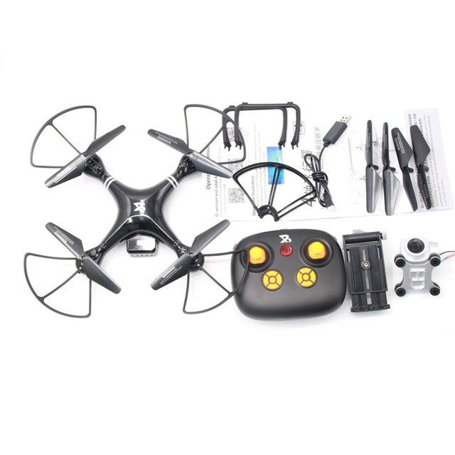 Four-Axle Flying Drone One Button Take Off Landing Toy for kids - Happy Peaks