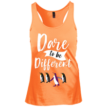 Dare to be Different Junior's Racerback Tank Top