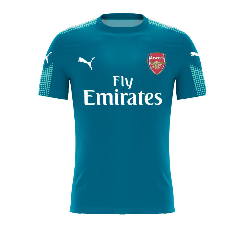 official photos 0a7f1 7f38f Arsenal FC Home Goalkeeper kit