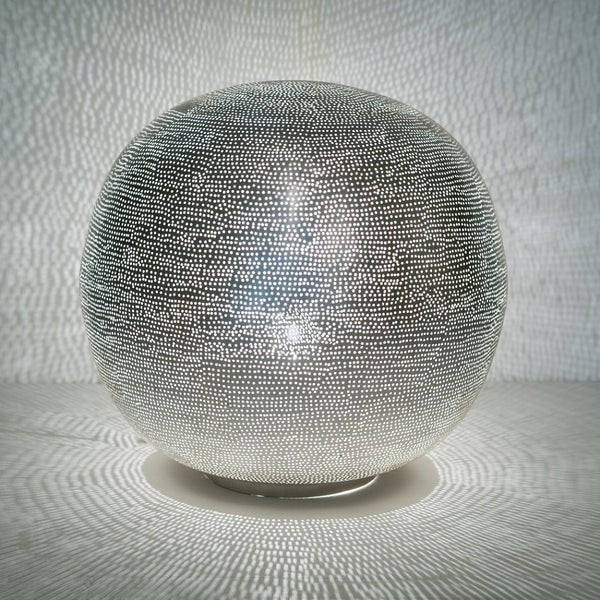 Table Lamp Ball Filisky XL Nickel - TLFSBXLS