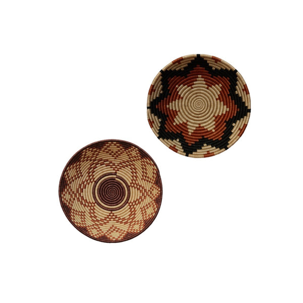 Set of 2 Rwanda Baskets - A